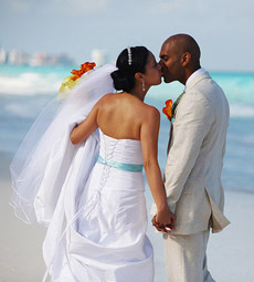 Darlene and Manoj, A Beautiful Day at the JW Marriott, Cancun Mexico