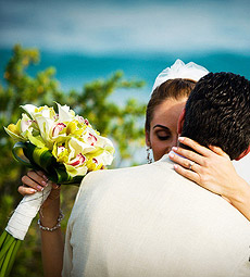 Maya Rivera Destination Wedding, Galit and Steve at the Grand Occidental Xcaret
