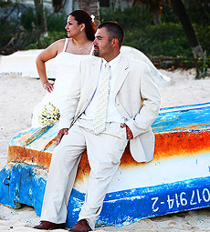 Rocio and Eliazar, Playa del Carmen Destination Wedding Photography