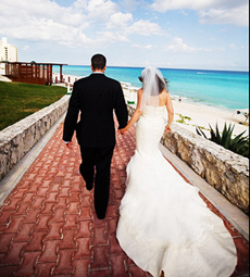 Shannon and Jeff's Destination Wedding, The Hilton, Cancun, Mexico