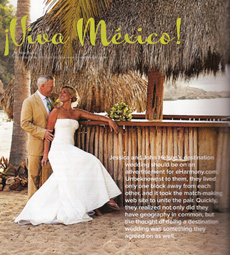 Jessica and John's Costa Careyes wedding, Featured in Destination I Do Magazine!
