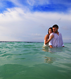 Wedding and Trash the Dress Photography Dreams Riviera Cancun, Carla and Angelo