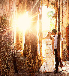 Yucatan Hacienda Photography, Alexis and Alain TTD