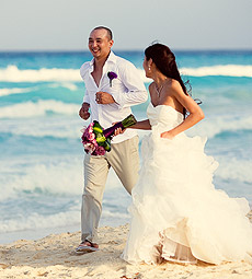 Jessica and Toan, Cancun Wedding and TTD Photography 6 30 2011