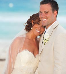 Molly and Josh, Le Blanc Resort, Cancun Mexico Photography