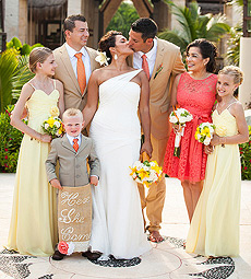 Azul Beach Destination Wedding, Puerto Morelos, Mexico, La Kisha and Frank  5 25 2013