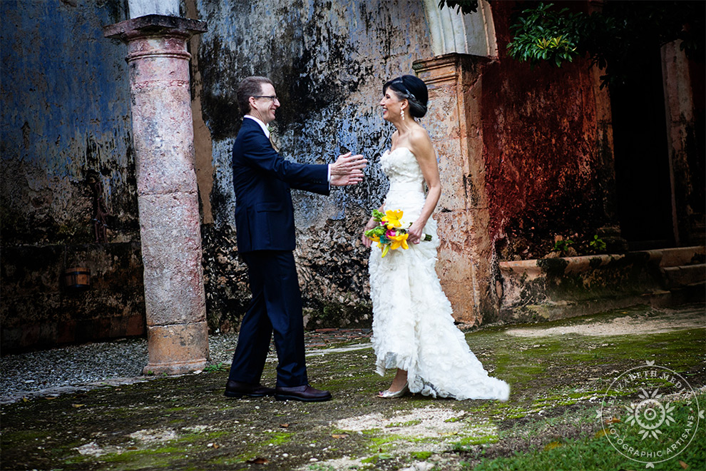 Hacienda Wedding Photography, first look Hacienda Wedding Photography, Michele and David