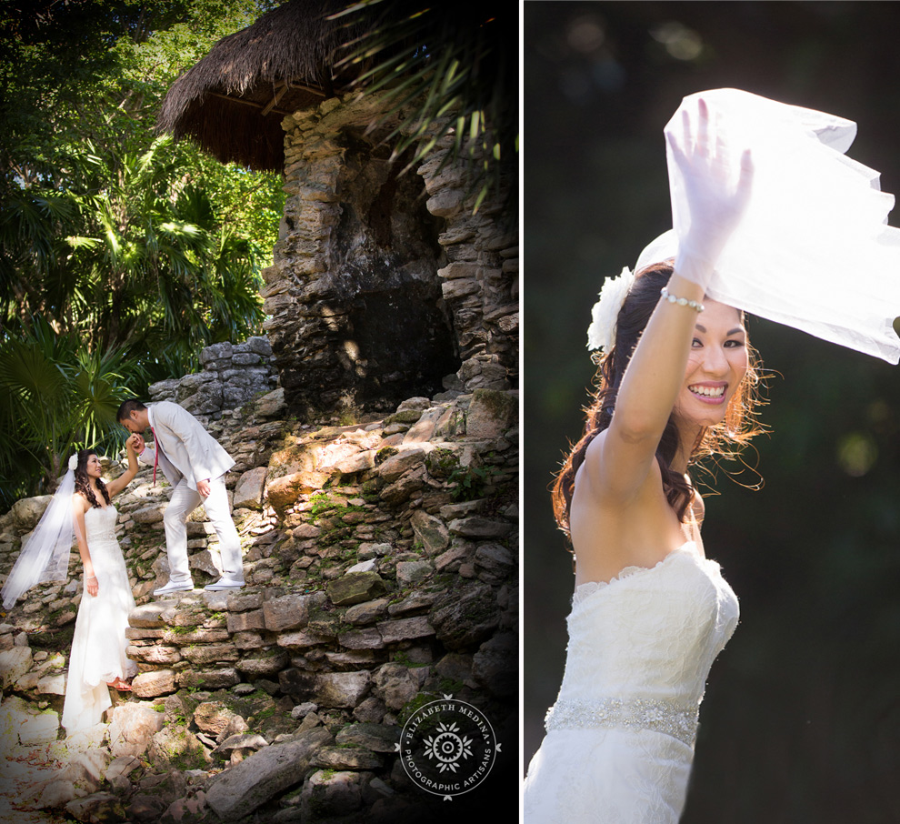 elizabethmedina playacar palace wedding photographer_793_007 Playacar Palace Wedding Photography Playa del Carmen, Ranielle and John