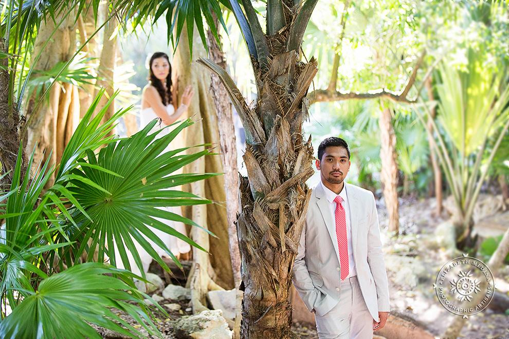 elizabethmedina playacar palace wedding photographer_793_008 Playacar Palace Wedding Photography Playa del Carmen, Ranielle and John