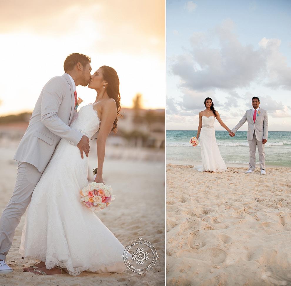 elizabethmedina playacar palace wedding photographer_793_029 Playacar Palace Wedding Photography Playa del Carmen, Ranielle and John