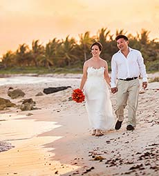 Tulum Wedding, Lauren and Tom at Dreams Tulum