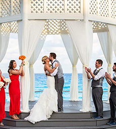 Wedding Photography in Cancun, Paradisus Cancun, Sarah and Steve  03-01-2014