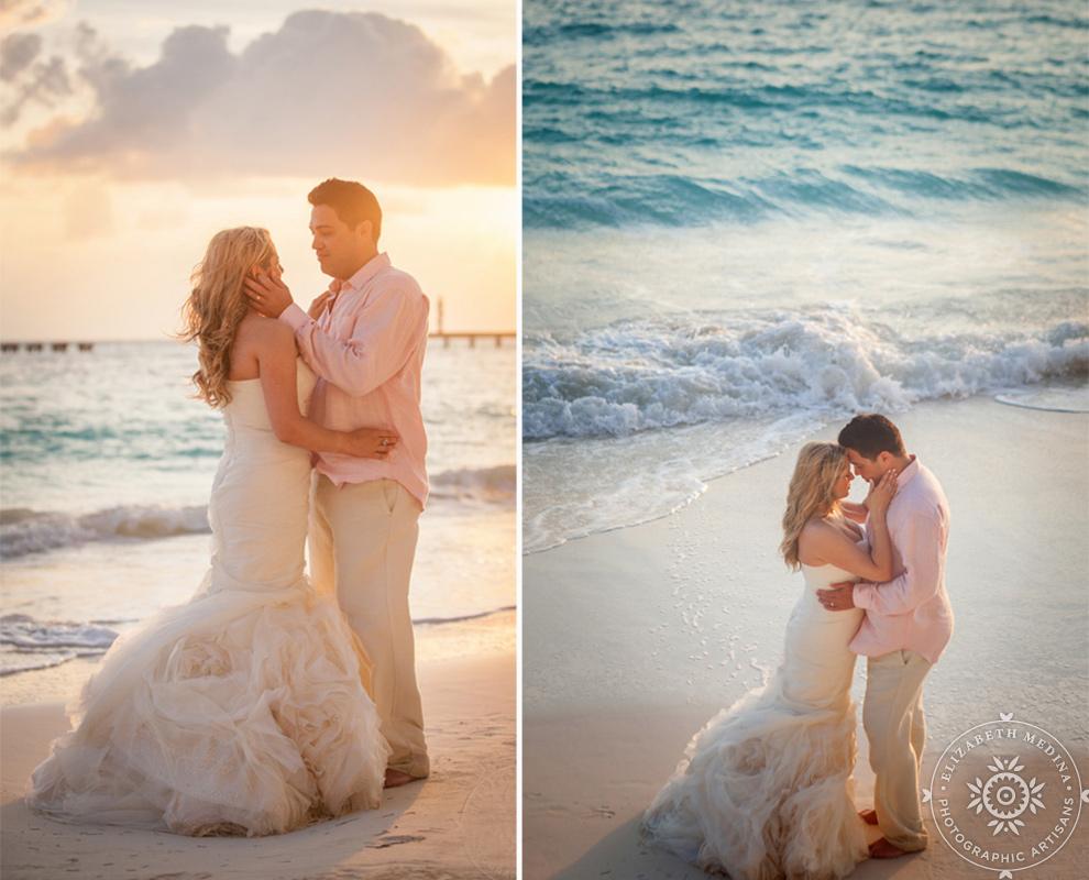 cancun_trash the dress photos elizabeth medina 005 Trash the Dress and Wedding Photography, Beach Palace Cancun Mexico