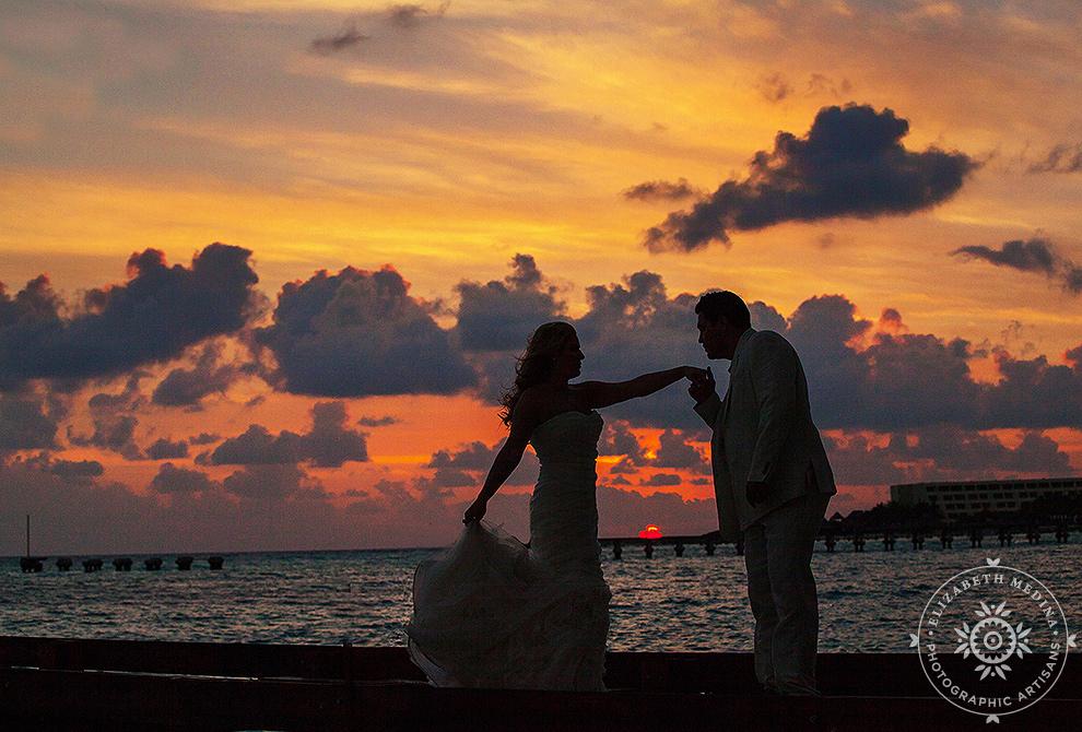 cancun_trash the dress photos elizabeth medina 007 Trash the Dress and Wedding Photography, Beach Palace Cancun Mexico