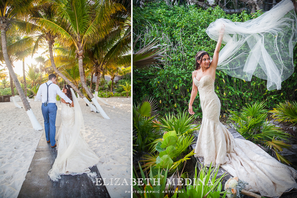 emedina_secret jewel wedding_011 Mayan Riviera Beach Wedding, Laura and Domenik at the Secret Jewel