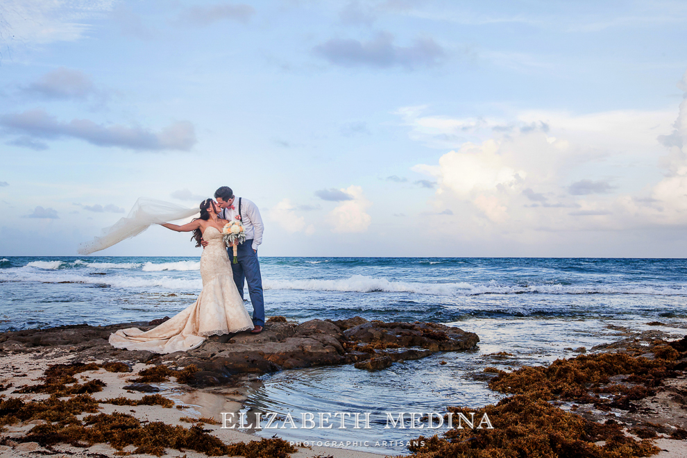 emedina_secret jewel wedding_015 Mayan Riviera Beach Wedding, Laura and Domenik at the Secret Jewel