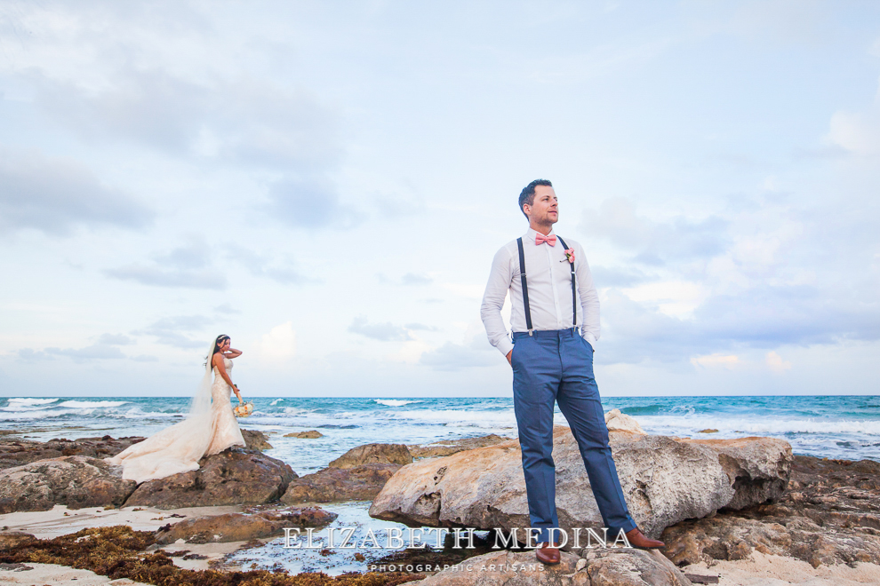 emedina_secret jewel wedding_016 Mayan Riviera Beach Wedding, Laura and Domenik at the Secret Jewel