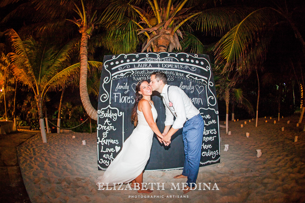 emedina_secret jewel wedding_021 Mayan Riviera Beach Wedding, Laura and Domenik at the Secret Jewel