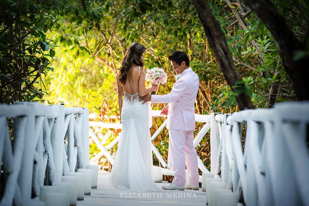 elizabeth medina banyan tree wedding024 Photographer Banyan Tree Mayakoba, Destination Wedding