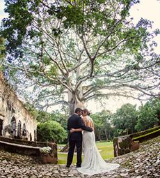 Hacienda Wedding, Hacienda Uayamón, Campeche, Mexico
