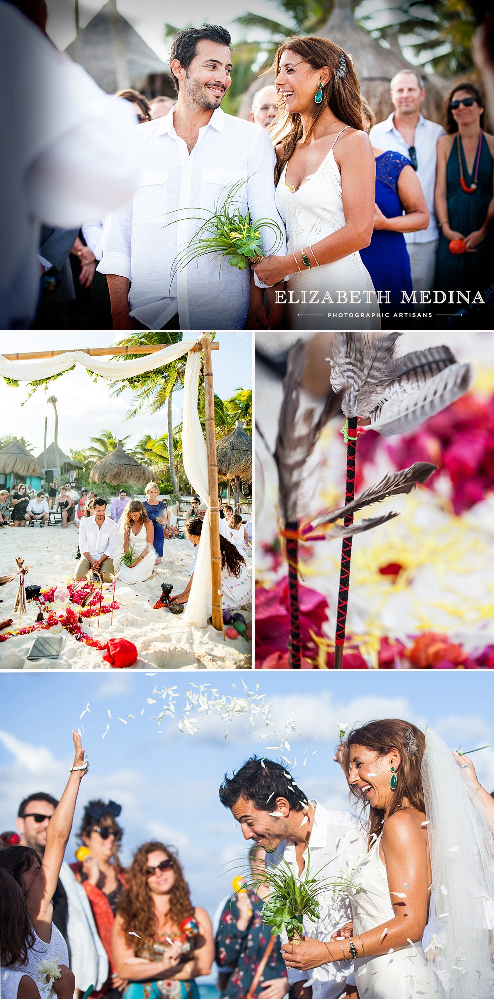 elizabeth medina photography tulum wedding photographer_56 Mayan Ceremony, Tulum, Mexico  12 13 14