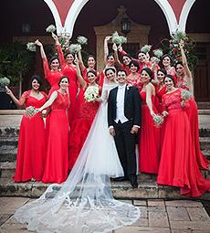 Boda en Merida Hacienda,  Andrea y Alejandro, destination wedding fotografia de Elizabeth Medina