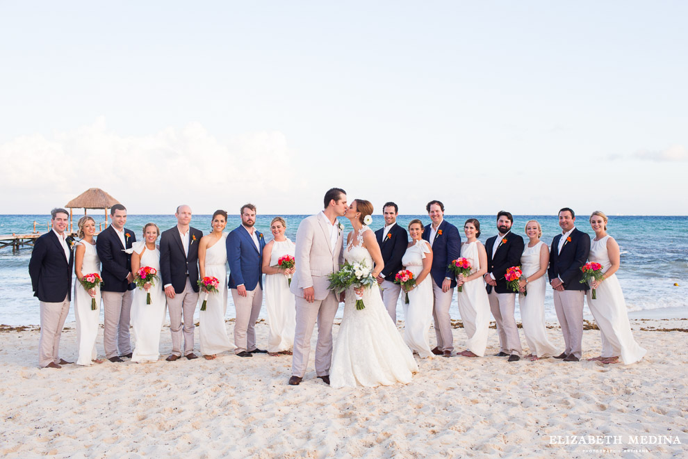 viceroy riviera maya destination wedding elizabeth medina 037 2 Beach Fiesta, Kelsey and Guillermo, Viceroy Riviera Maya, Playa del Carmen, Mexico