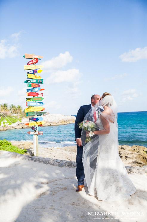 xcaret eco park wedding photography elizabeth medina 021 Xcaret Eco Park, Lisa and Kevin´s Playa del Carmen Destination Wedding