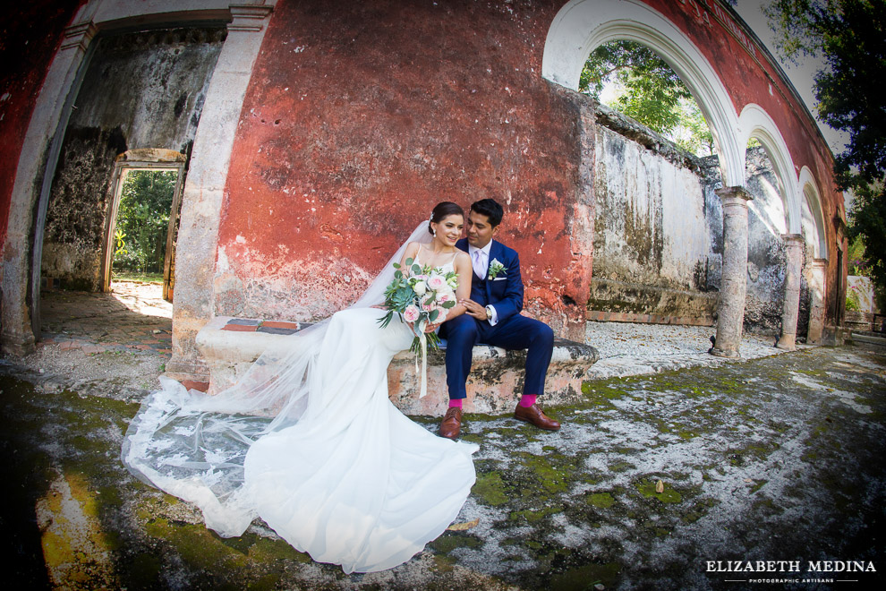 Destination wedding, Hacienda Uayamon