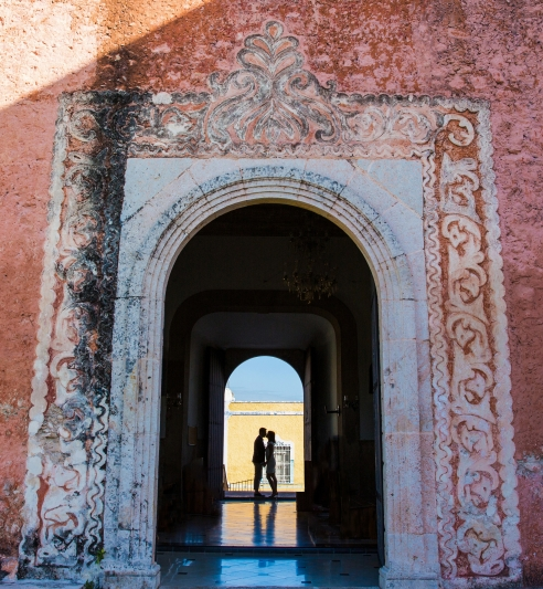 Merida Photographers, Engagement Photo Session in Yucatan, Mexico