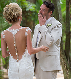 Photographer Viceroy Riviera Maya, Luxe Beach Wedding, Tom and Stefani