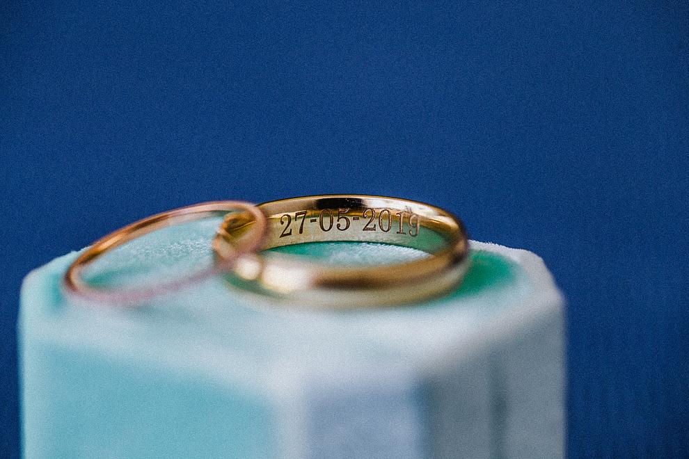 wedding rings The Finest Playa Mujeres Wedding,  Jasmine and Alejandro