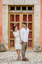 Hacienda Xcanatun Save the Date Engagement, Adri and Cuxo