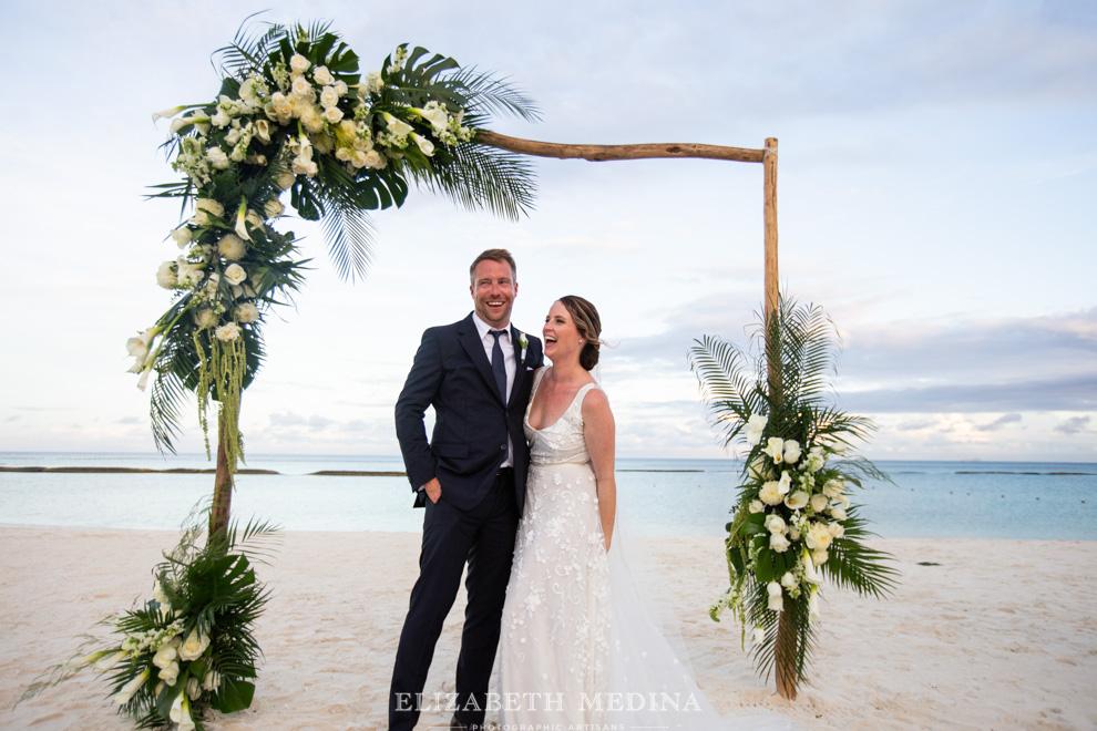 fairmont mayakoba beach wedding ceremony