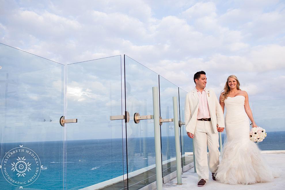 Cancun Wedding Photography Beach Palace Elizabeth Medina 009 Destination Lindsey And Angelo 03 08 2017
