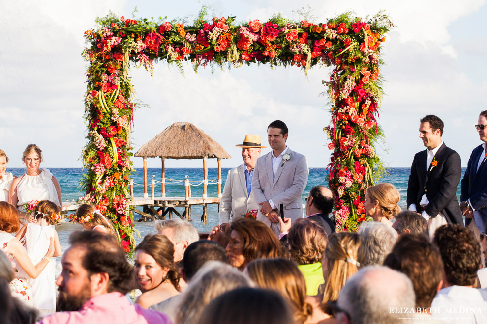 viceroy riviera maya destination wedding elizabeth medina 022 2 Beach Fiesta, Kelsey and Guillermo, Viceroy Riviera Maya, Playa del Carmen, Mexico