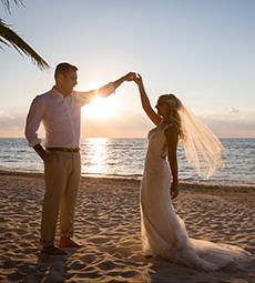 Azul Sensatori Sky Deck Wedding, Mayan Riviera Wedding Photography,